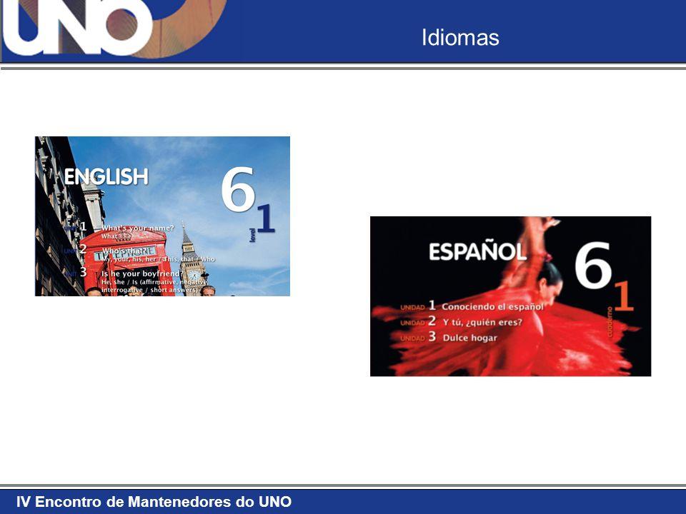 IV Encontro de Mantenedores do UNO Idiomas