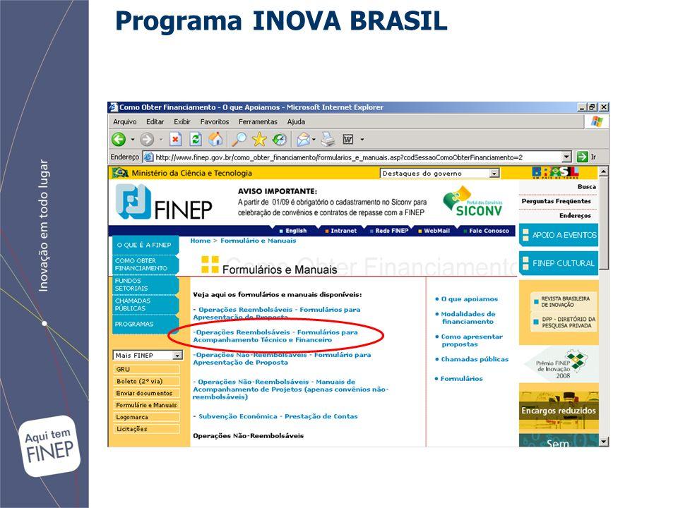Programa INOVA BRASIL