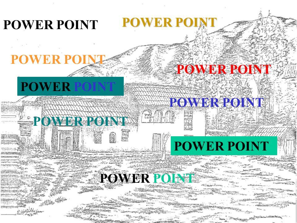 POWER POINT : APLICATIVO PARA FAZER: APRESENTAÇÕES OU KIOSQUES ANIMADOS, COM SOM, DE UM ASSUNTO.