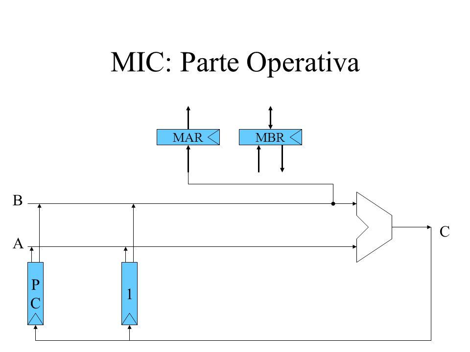 MIC: Parte Operativa MARMBR PCPC A B 1 C
