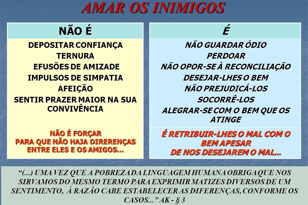 O AMOR AOS INIMIGOS E AS FRONTEIRAS DE OBSERVAÇÃO (...) SUAS VISTAS SE LANÇAM SOBRE O PASSADO E SOBRE O FUTURO, ENTRE OS QUAIS A VIDA ATUAL NÃO PASSA DE UM SIMPLES PONTO (...) - § 4 PASSADO PRESENTE FUTURO CAMPO DE OBSERVAÇÃO DOS INCRÉDULOS CAMPO DE OBSERVAÇÃO DO ESPÍRITA