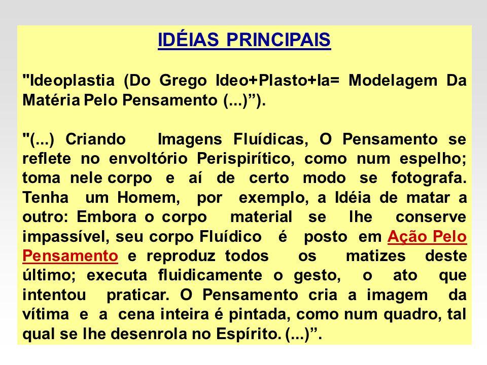 IDÉIAS PRINCIPAIS