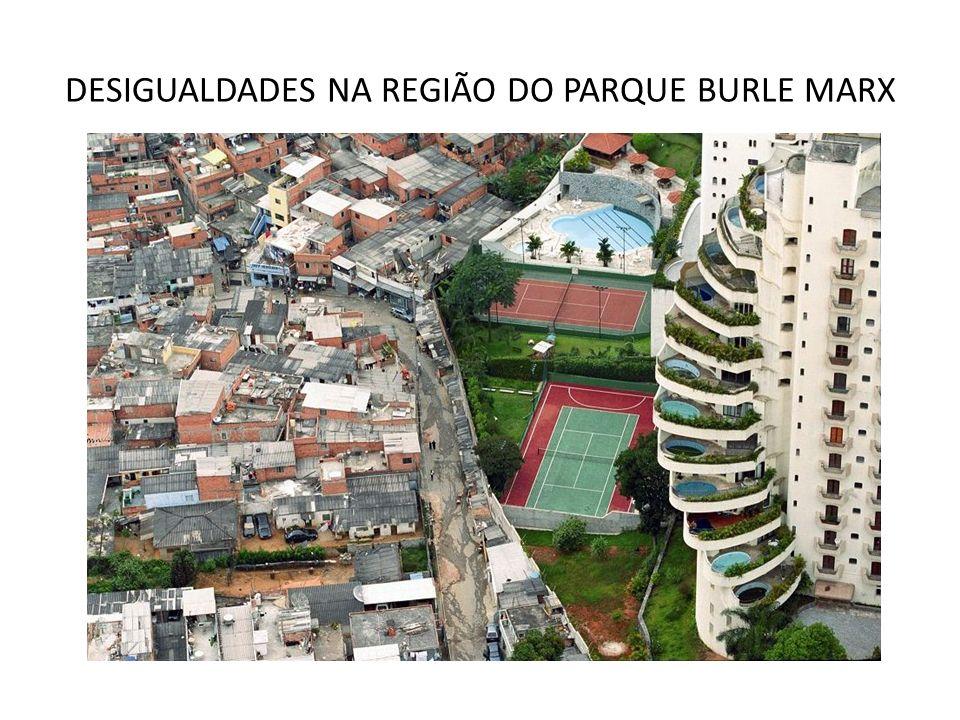 DESIGUALDADES NA REGIÃO DO PARQUE BURLE MARX