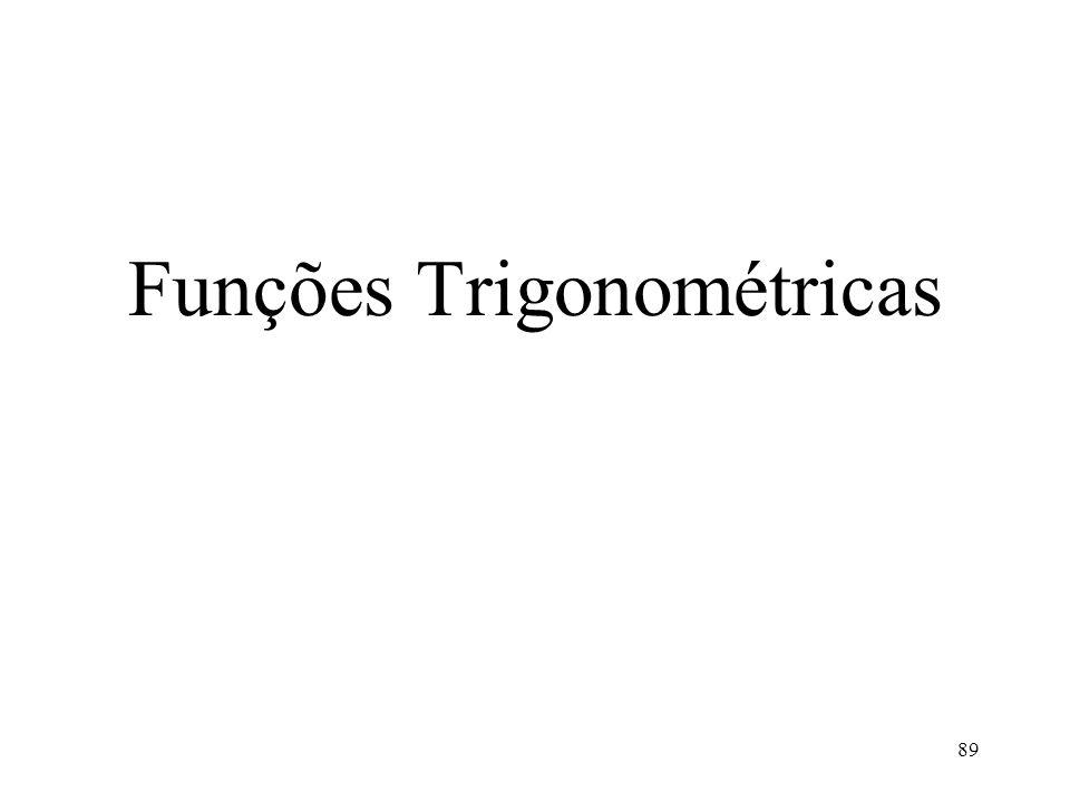 Funções Trigonométricas 89