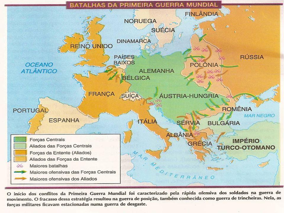 O ATENTADO DE SARAVEJO No dia 28 de junho de 1914, na cidade de Sarajevo, na Bósnia, o herdeiro do trono austro-húngaro, Francisco Ferdinando, foi ass
