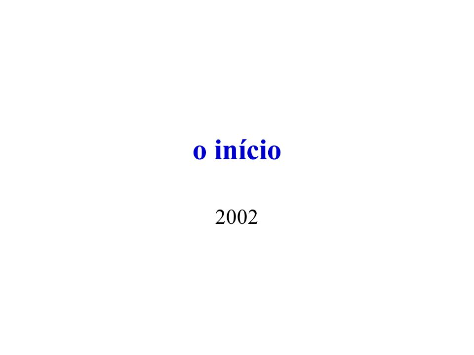 2004, 2005,...X 2008 factories X OSS development.