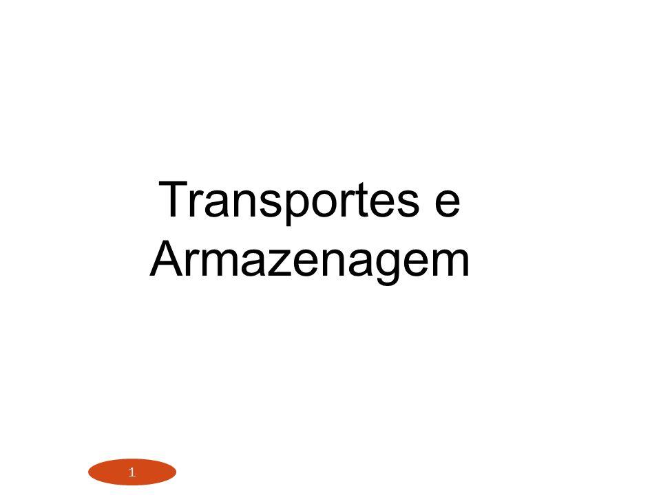 1 Transportes e Armazenagem