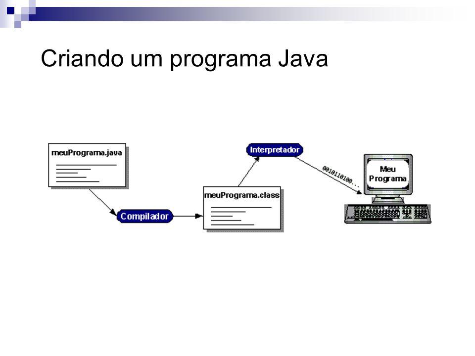 Criando um programa Java