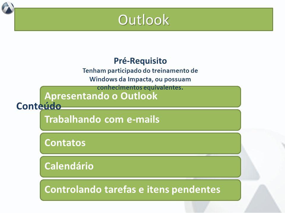 Objetivo inserir no contexto de utilização do Outlook, compreendendo suas características e seus recursos essenciais para, então, obter o melhor aprov