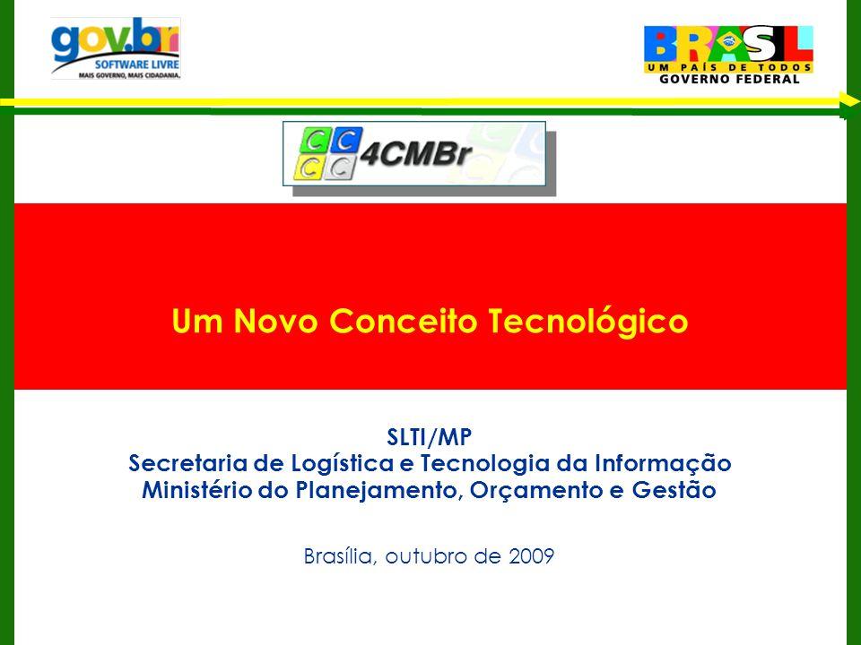 Um Novo Conceito Tecnológico SLTI/MP Secretaria de Logística e Tecnologia da Informação Ministério do Planejamento, Orçamento e Gestão Brasília, outub