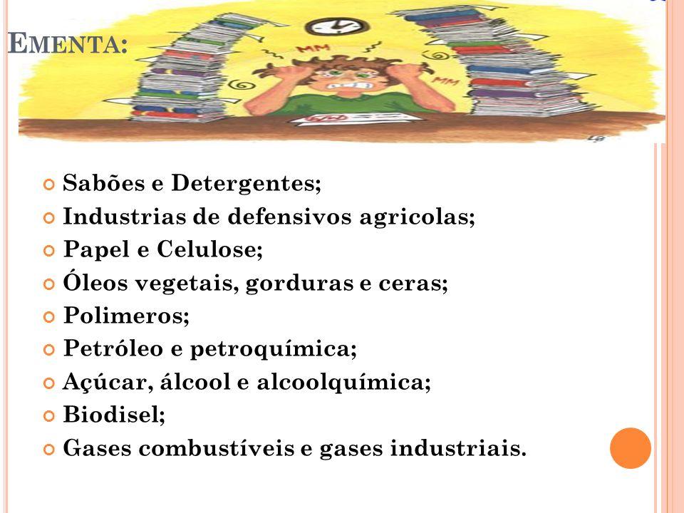 INDUSTRIA DE SABÕES E DETERGENTES O sabão na verdade nunca foi descoberto, mas surgiu gradualmente de materiais alcalinos e matérias graxas.