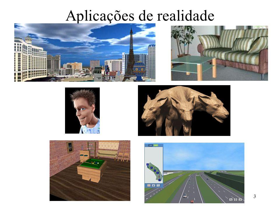 4 Linguagem VRML(Virtual Reality Modeling Language) Linguagem de modelagem de realidade virtual.