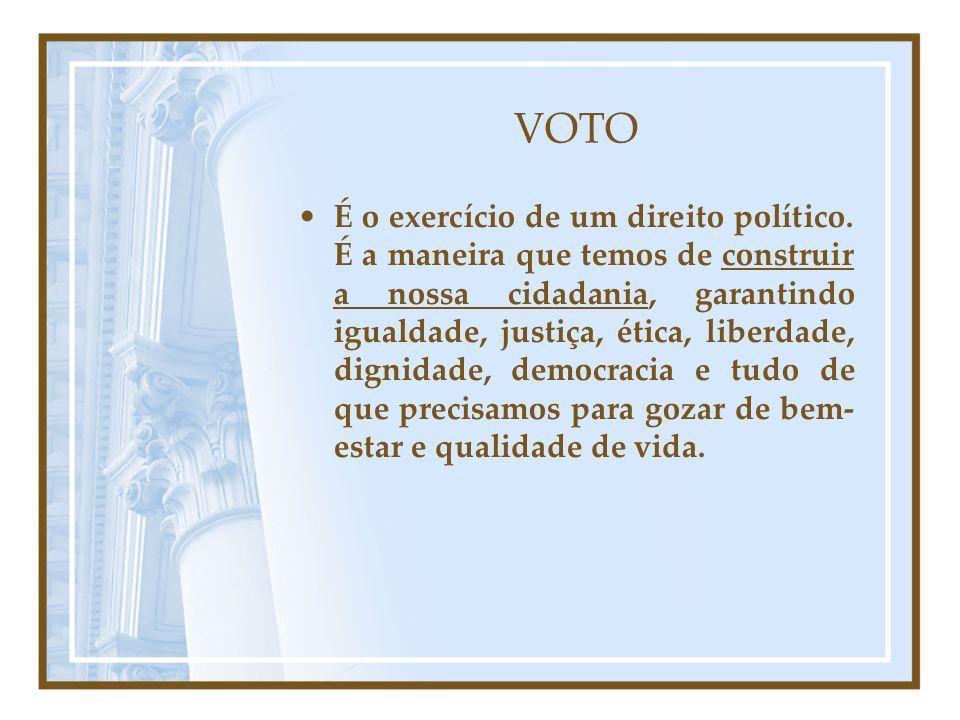 Cálculo do Quociente Eleitoral Apenas os partido e/ou coligações que atingem o quociente eleitoral têm direito de ocupar as vagas disponíveis: Assim, somente os Partidos A, B e a Coligação D poderão preencher as vagas disponíveis.