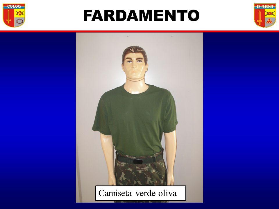Camiseta verde oliva FARDAMENTO