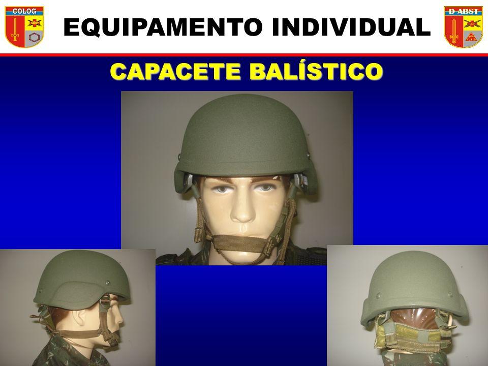 CAPACETE BALÍSTICO EQUIPAMENTO INDIVIDUAL