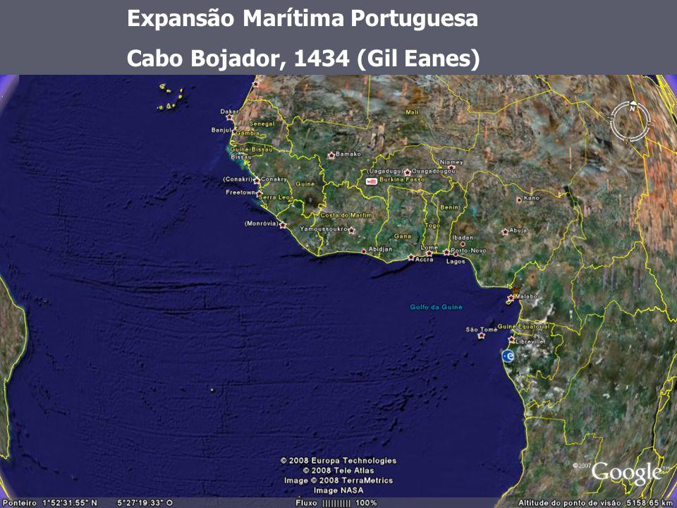Expansão Marítima Portuguesa Cabo Bojador, 1434 (Gil Eanes)
