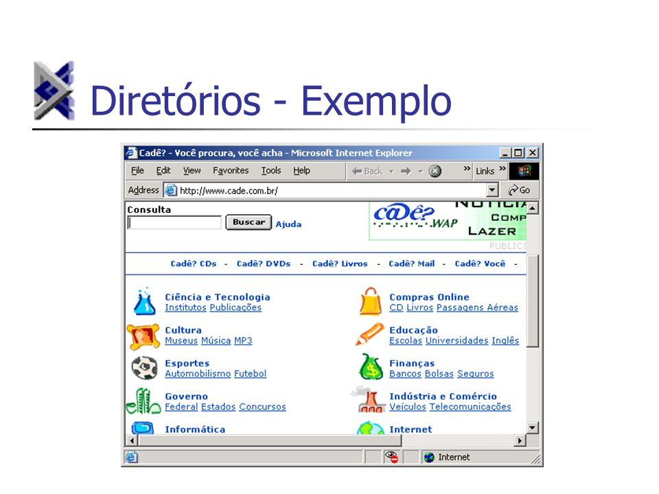 Diretórios - Exemplo