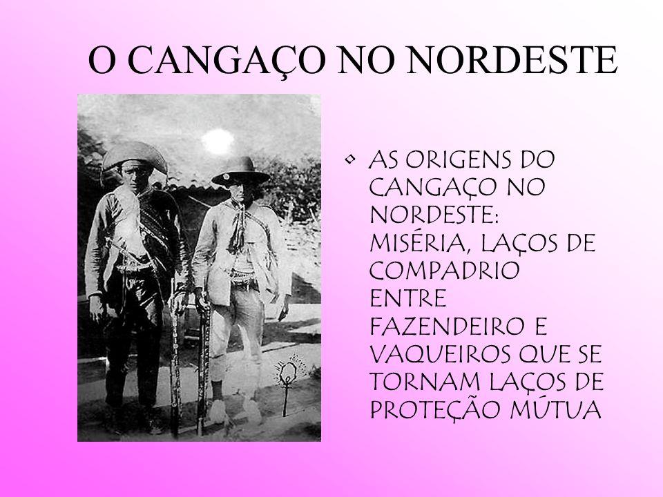 AS REVOLTAS RURAIS CANUDOS (BAHIA/1895-1897) CONTESTADO (FRONTEIRA ENTRE O PARANÁ E STA. CATARINA /1912 – 1916) CANGAÇO (O BANDITISMO SOCIAL)