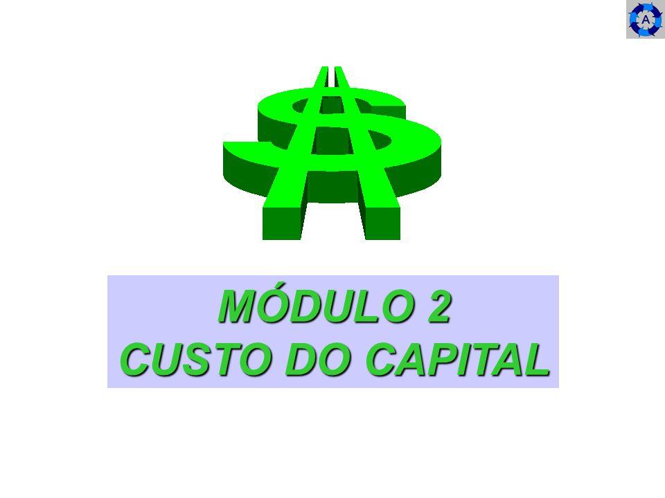 MÓDULO 2 CUSTO DO CAPITAL