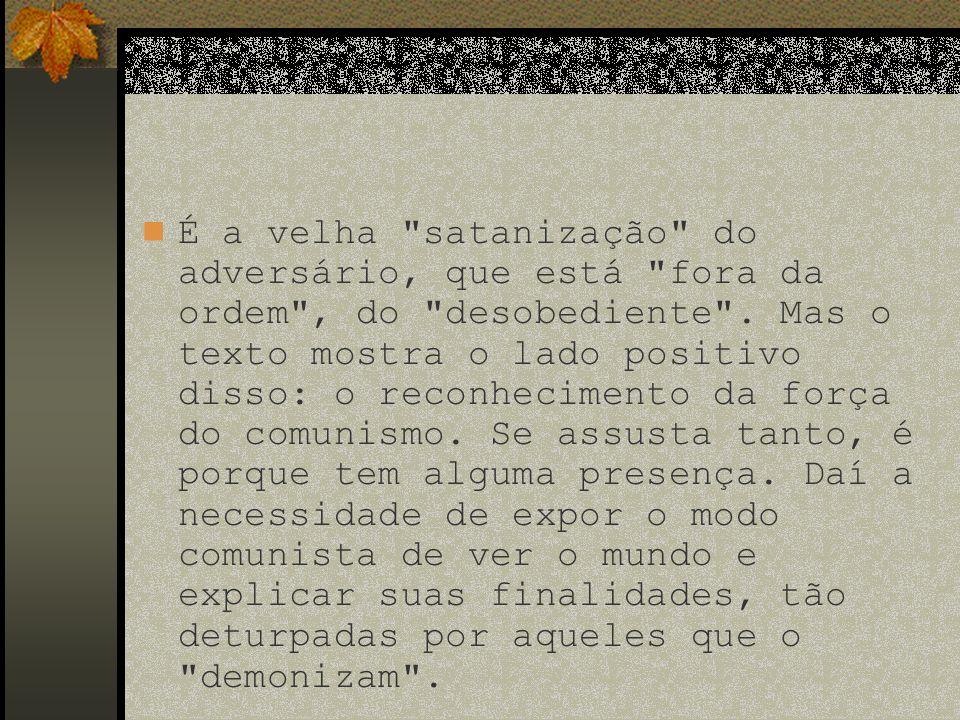 Referências Bibliográficas Manifesto do partido comunista. São Paulo: Global, 1981.