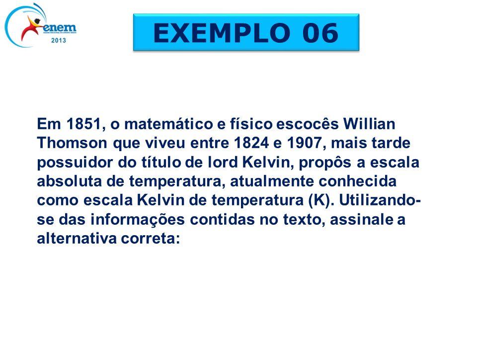 Em 1851, o matemático e físico escocês Willian Thomson que viveu entre 1824 e 1907, mais tarde possuidor do título de lord Kelvin, propôs a escala abs