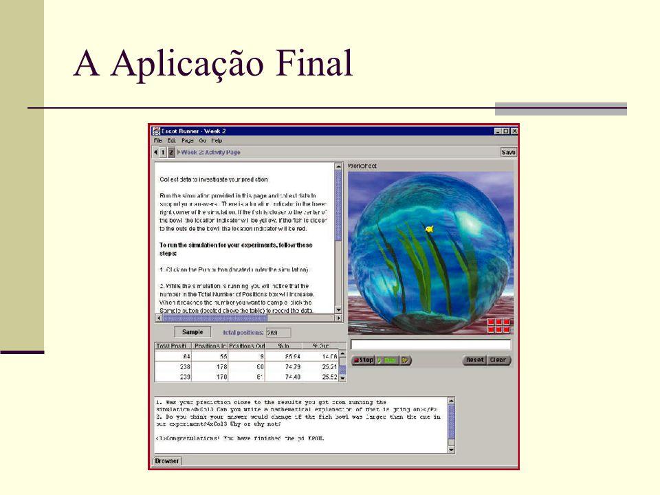 A Aplicação Final