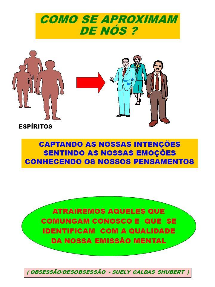 INFLUENCIAÇÕES ESPIRITUAIS BENÉFICAS BENFEITORES E AMIGOS ESPIRITUAIS BUSCAM ENCAMINHAR-NOS PARA O BEM ESPÍRITOS INFERIORES AFINIZAM COM A NOSSA FORMA DE SER COMPRAZEM EM FAZER O MAL COBRAM-NOS DÍVIDAS QUE CONTRAÍMOS NINGUÉM HÁ QUE ESTEJA LIVRE DE INFLUENCIAÇÕES ESPIRITUAIS ( OBSESSÃO/DESOBSESSÃO - SUELY CALDAS SHUBERT ) ASSIM...
