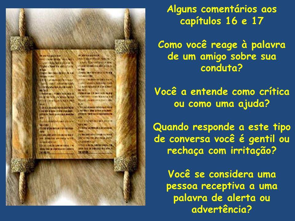 Jó 18 e 19 – Bildade acusa – Jó se defende (Alguns versículos em destaque para leitura alternada) [3] Por que somos tratados como gado, e como estultos aos vossos olhos.