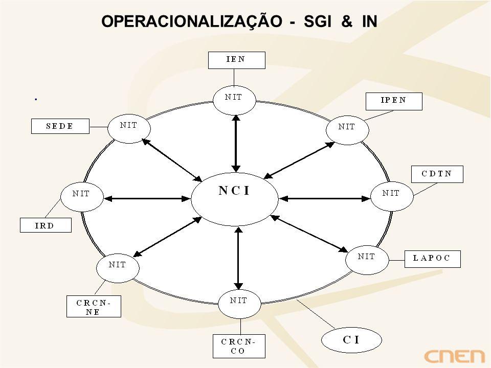 . OPERACIONALIZAÇÃO - SGI & IN