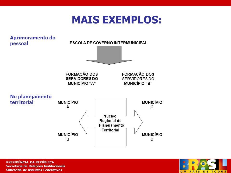 Planejamento Estratégico PRESIDÊNCIA DA REPÚBLICA Secretaria de Relações Institucionais Subchefia de Assuntos Federativos FORMAÇÃO DOS SERVIDORES DO M