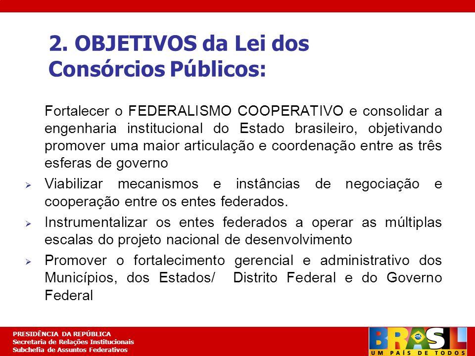 Planejamento Estratégico PRESIDÊNCIA DA REPÚBLICA Secretaria de Relações Institucionais Subchefia de Assuntos Federativos Fortalecer o FEDERALISMO COO