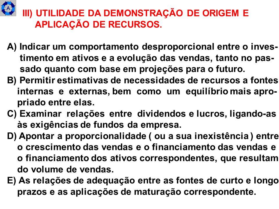 1.3) DEMONSTRAÇÕES PRIMÁRIAS E SECUNDÁRIAS A SEREM UTILIZADAS PARA ESTUDO.
