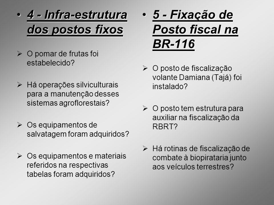 6 - Normas de controle do Rio Trombetas6 - Normas de controle do Rio Trombetas As normas de controle para o Lago Mussurá e a Cachoeira Porteira estão em vigor.