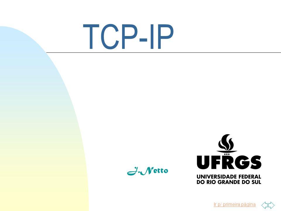 Ir p/ primeira página TCP-IP J.Netto
