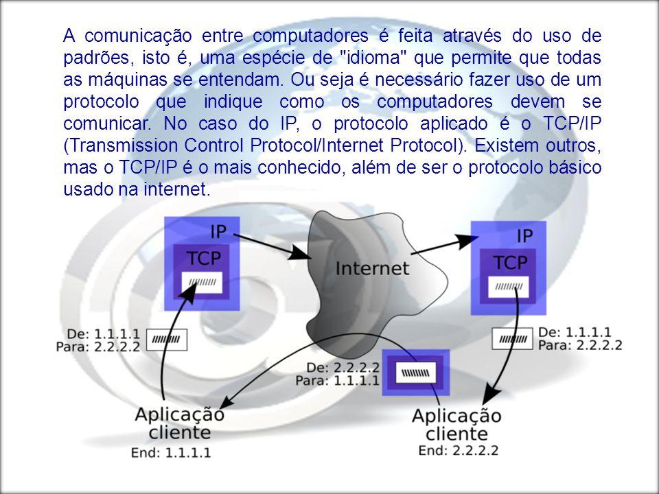 TIPOS DE IPs IP ESTÁTICO É um número IP dado permanentemente a um computador, ou seja, seu IP não muda, exceto se tal ação for feita manualmente.