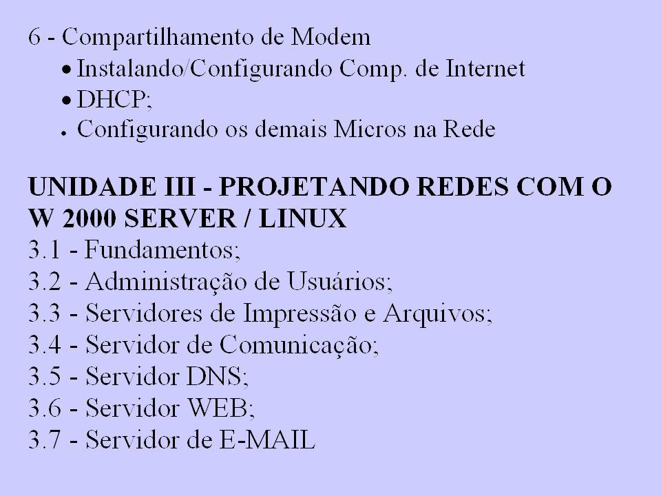 O MODELO DE REFERÊNCIA DO TCP/IP O TCP/IP não é um único protocolo, é um conjunto de protocolos.