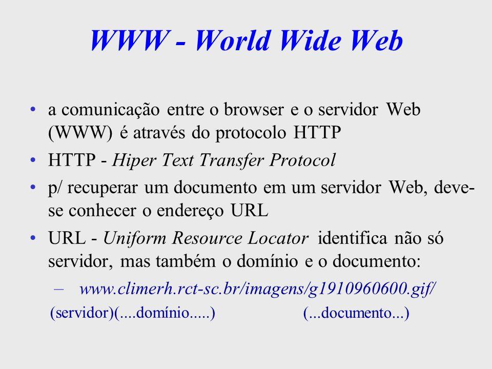 WWW - World Wide Web WWW Client TCP/TP Browser Web Server BD HTTP