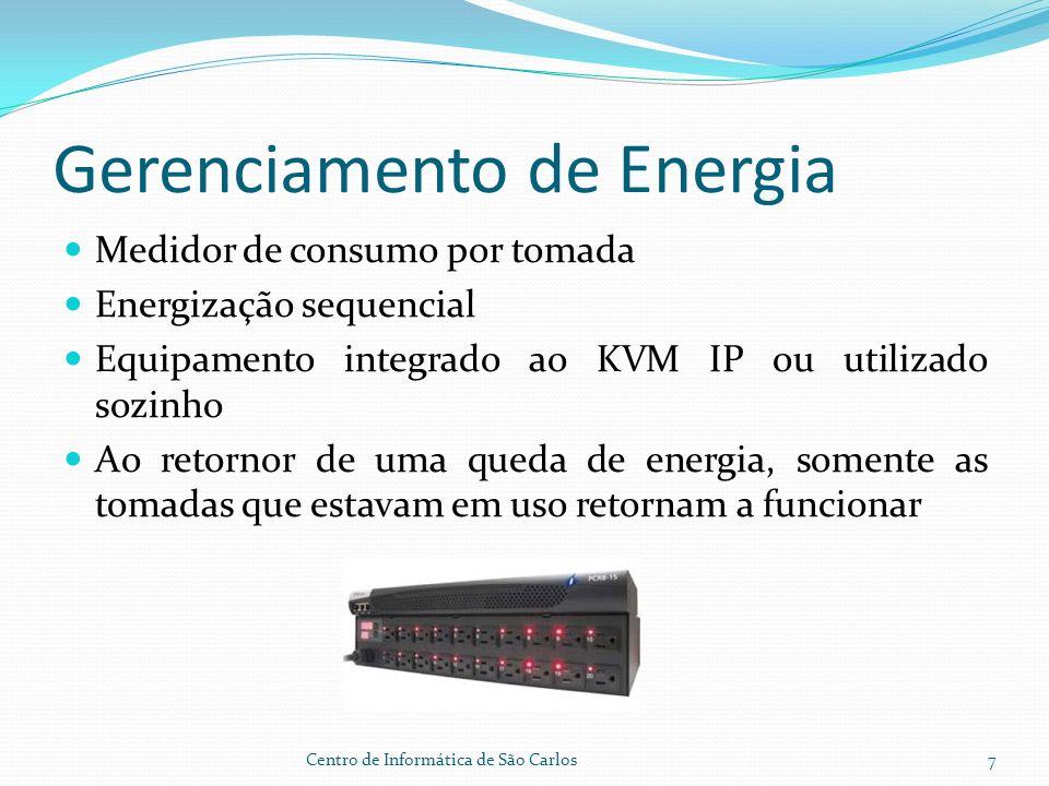 Interface do Usuário Centro de Informática de São Carlos8