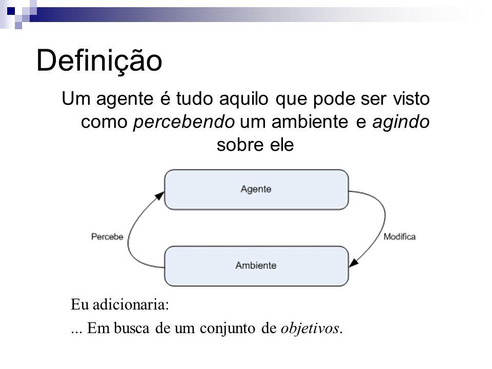 Características Cognitivas (1/2) Básicas: Autonomia – capacidade de agir sem intervenção de outros agentes.