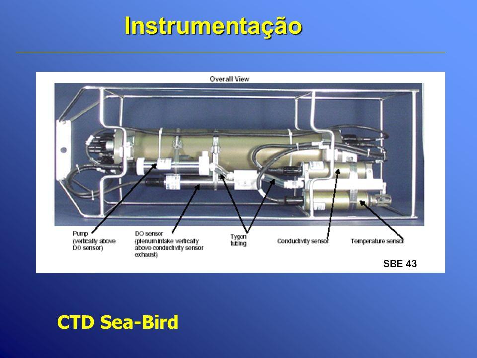 Instrumentação CTD Sea-Bird