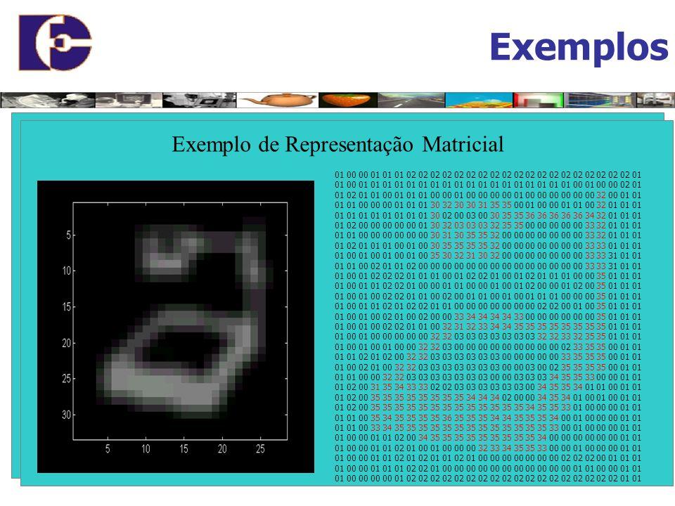 Representações Gráficas Gráficos Vetoriais Representados por coleções de objetos geométricos: Pontos Retas Curvas Planos Polígonos Gráficos Matriciais