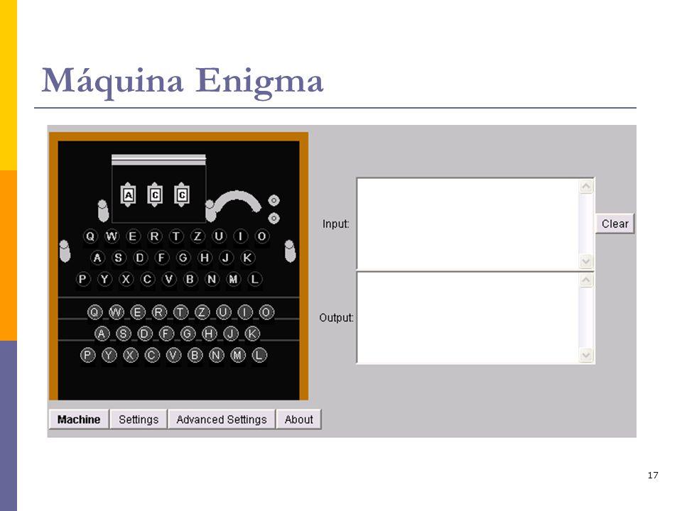 17 Máquina Enigma