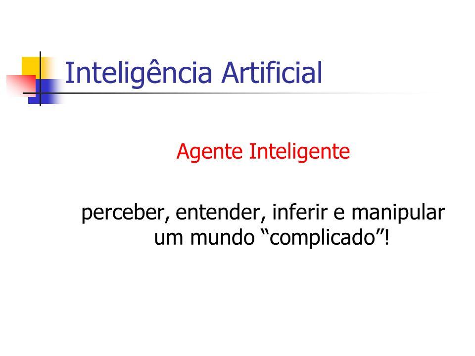 Inteligência Artificial Formalmente iniciada em 1956 com o advento do computador, porém, por mais de 2000 anos filósofos tentam entender como a gente vê, aprende, lembra e raciocina .