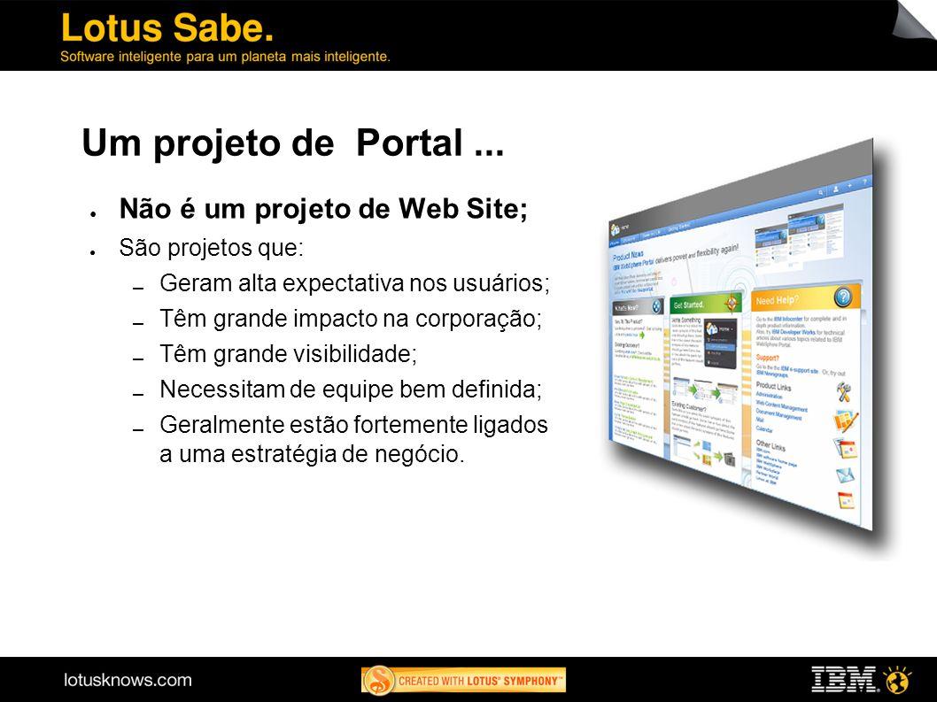 Um projeto de Portal...