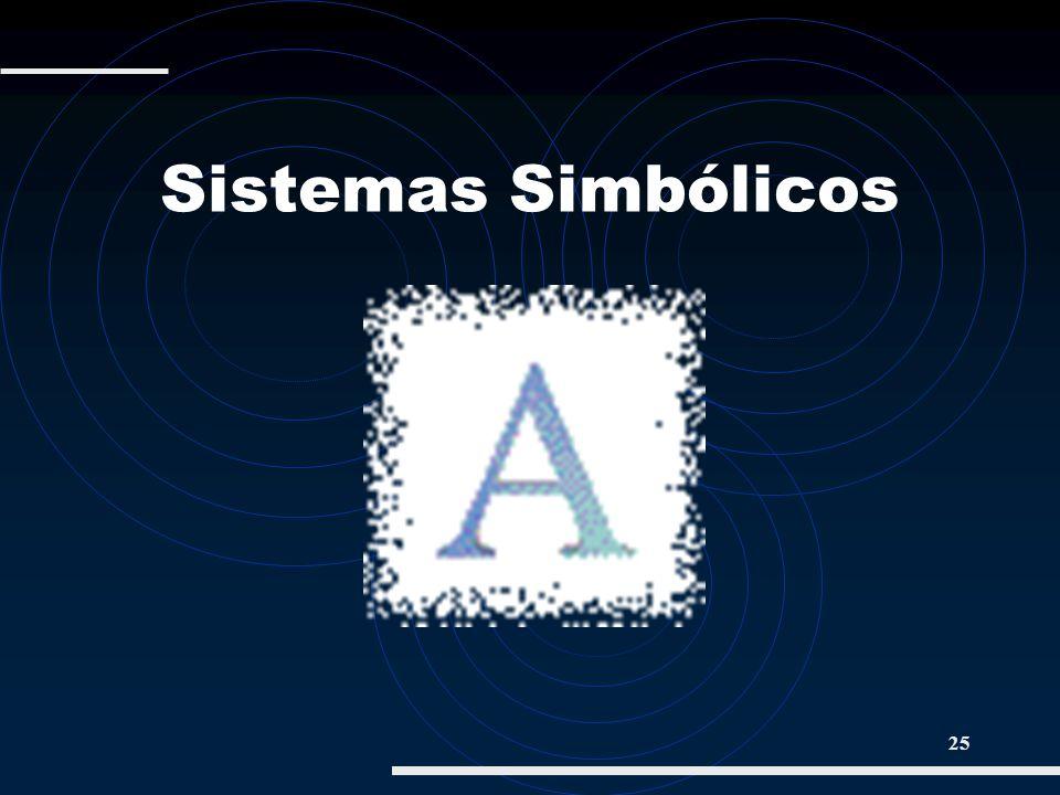 25 Sistemas Simbólicos