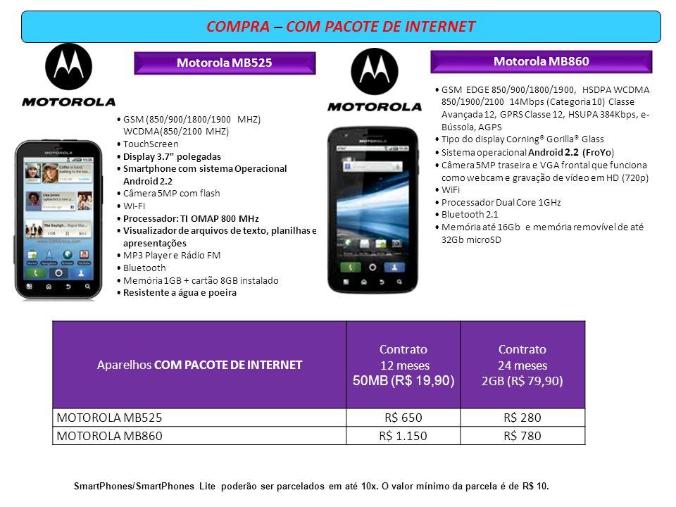 Motorola MB525 GSM (850/900/1800/1900 MHZ) WCDMA(850/2100 MHZ) TouchScreen Display 3.7