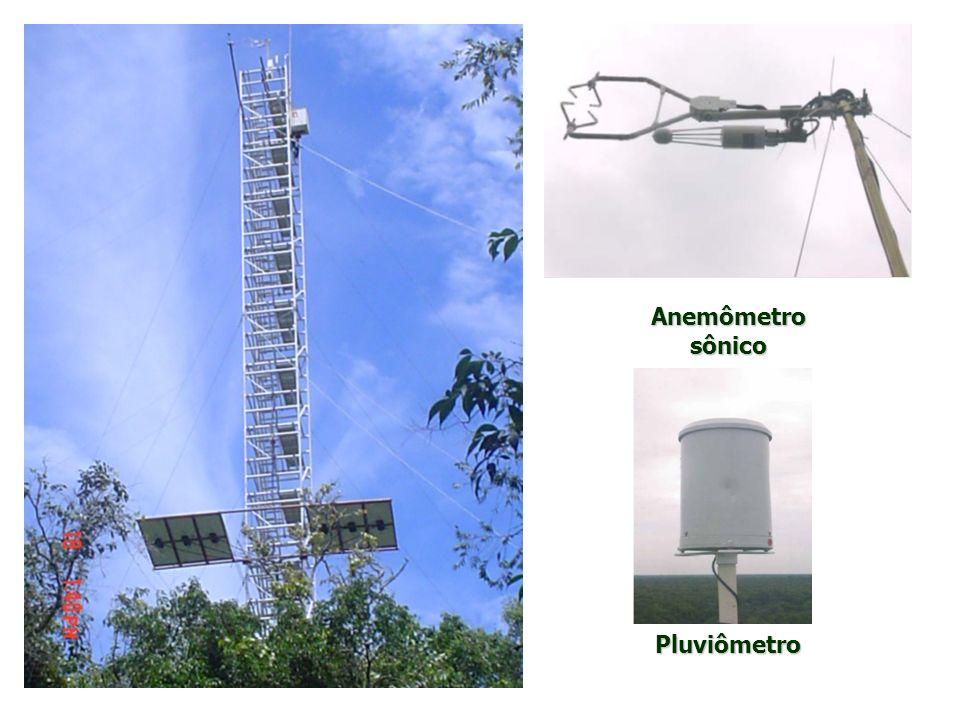 Medição de efluxo de CO 2 do solo: - Cinco câmaras de respiração do solo; - Fluxo de CO 2 do solo - sistema de câmara fechada; - Abertura e o fechamento - controle por um datalogger CR10X da Campbell; - Concentração de CO 2 - medido por IRGA; MATERIAIS E MÉTODOS