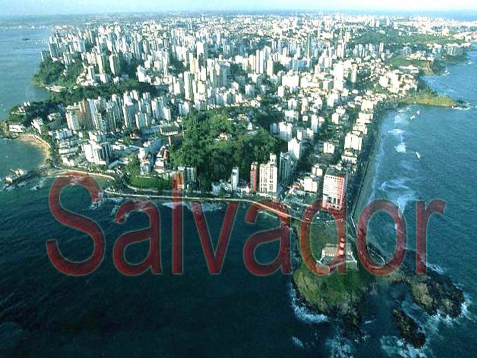 SALVADOR Macrorregião Nordeste Microrregião Salvador Área: 706 km 2 População estimada em 2.754.950 hab (IBGE/2006)