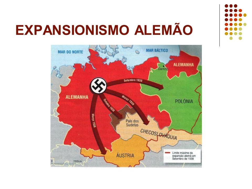 EXPANSIONISMO ALEMÃO