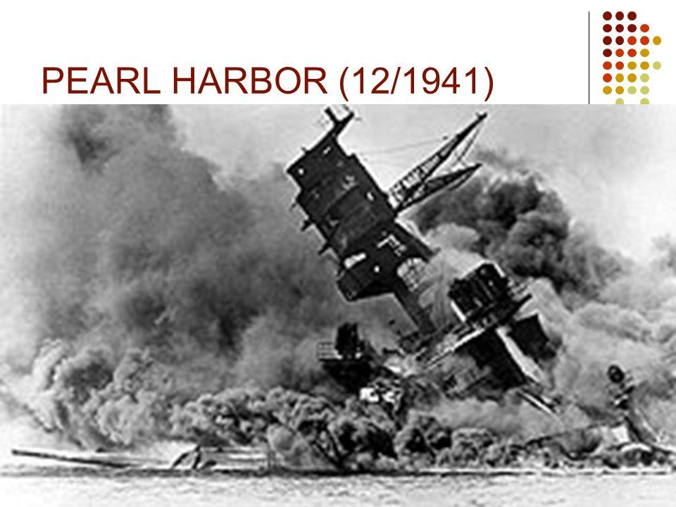 PEARL HARBOR (12/1941)